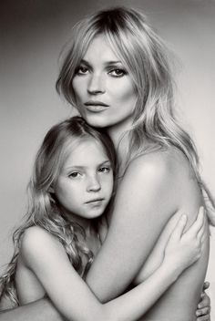 Kate Moss. American Vogue, September 2011. Mario Testino.