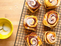 Homemade Cinnamon Rolls with Creamy Icing         Cinnamon Rolls with Icing Recipe  at Epicurious.com