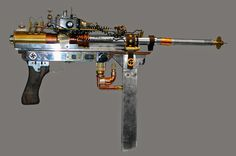 INADESIGN FANTASY WEAPON & MODELING WORX: ELECTRON PARTICLE RIFLE