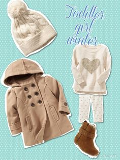 Toddler girl winter outfit, all from old navy, November 2014