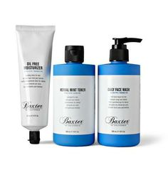Baxter of California Skin 1.2.3. kit, $45 (more actually cool gifts under $100 here http://chicityfashion.com/gifts-under-100-dollars/)