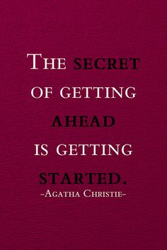 #Inspiration | getting started