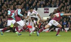 Manchester United into FA Cup semi-finals with narrow win at West Ham