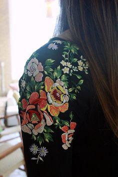 broderie - fleurs
