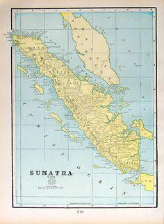 https://flic.kr/p/ajrDMv | Old Map Antique 1899