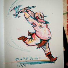 Ballerina of War #DailyDoodle