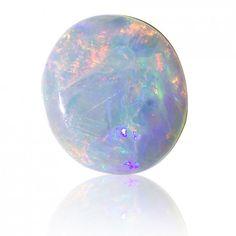 0.89ct Solid Semi Black Opal Free Shipping, Lifetime Guarantee SKU: 1873B007 on Etsy, $118.45