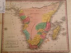 This is an 1830 Malte-Brun map of southern Africa showing the location of many important tribes and coastal settlements.