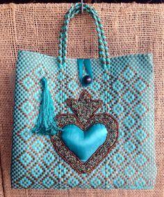 Hermosas bolsas Oaxaqueñas resultado de manos artesanas. .. Bolsa Mia