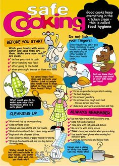 hygiene poster for food - Google Search