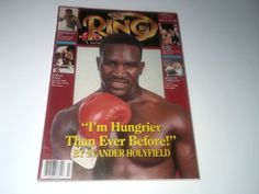 Vintage Boxing Magazine The Ring July 1990 by vintagepostexchange