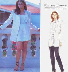 90s Donna Karan Vogue American Designer Pattern by CloesCloset, $16.00