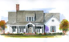 NEW PLAN:  Orange Grove, plan #1848, with 2,440 square feet of living space.