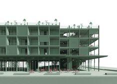 Udk Berlin, Pergola, Facade, Multi Story Building, Floor Plans, Studio, Cool Stuff, Projects, House