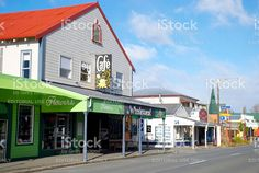Cafe and Shop in Takaka, Golden Bay, New Zealand royalty-free stock photo Image Now, New Image, Bay News, Editorial Photography, Celebrity Photos, New Zealand, Royalty Free Stock Photos, Pictures, Shopping