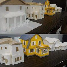 Coleção de maquetes! ;) #maquetes  #models #telhado #wood #arquiteto #architect #arquitetura #architeture #projeto #project #casas #home #construção #3dprinter #3dprinted #3dprinting #3dprint #impressao3d #impressora3d #maked3d by maked3d