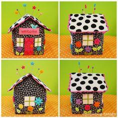 Pincushion cottage tutorial