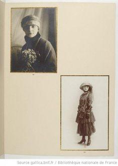 Portraits of Anna de Noailles, 1921. Bibliothèque nationale de France