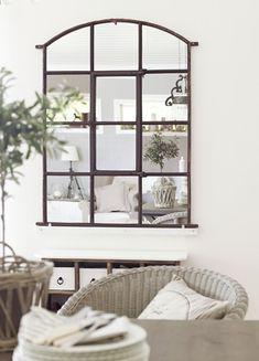 La ventana espejo | Practica & Chic