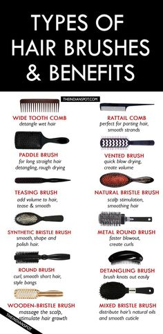 TYPES OF HAIR BRUSHES – HOW TO CHOOSE THE BEST HAIR BRU