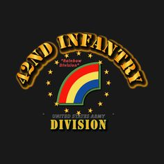 Check out this awesome '42nd+Infantry+Division+-+Rainbow+Division' design on @TeePublic!