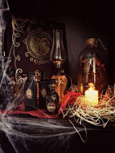 Un poco de nuestra decoración de Halloween