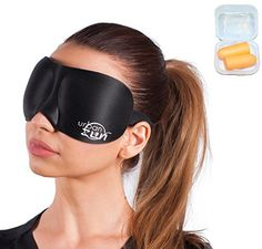 Eye Skin Care 1 Urban Zen  Premium Ultra Comfortable Sleeping Mask  3D Contoured Eye Mask  Special 30 Hours of Relaxation Music and Ear Plugs Bundle * Click on the image for additional details.