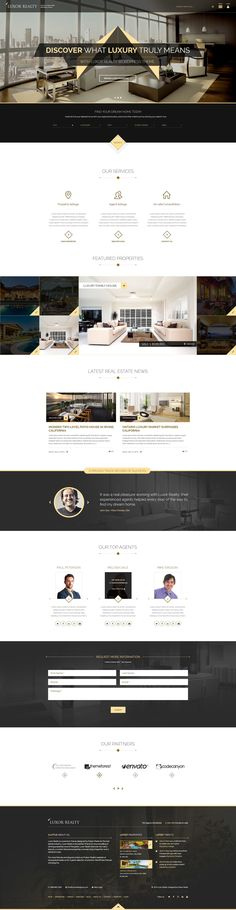 LUXOR is a premium real estate WordPress theme designed for the Real Estate…