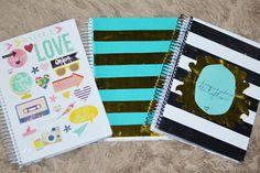 Como customizar cadernos - 3 ideias de customização