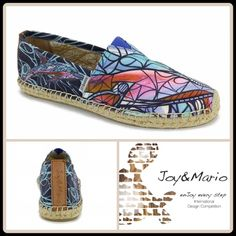 ⚡FLASH SALE⚡️$34⚡️ With Tag $75 Retail + Tax  The La Jolla features a beautiful custom digital print from Miami artist David Lavernia.   -Printed fabric upper -Slip-on styling with elastic insert -Espadrille trim -Round toe -Cushioned leather insole -Synthetic & rubber sole   2+ BUNDLE=SAVE  ‼️NO TRADES--NO HOLDS--NO MODELING   Brand Items Authentic   ✈️ Ship Same Day--Purchase By 2PM PST    USE BLUE OFFER BUTTON TO NEGOTIATE  ✔️ Ask Questions Not Answered In Description--Want You To Be…