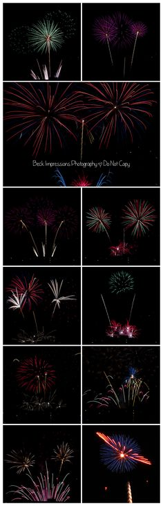 How to Photograph 4th of July Fireworks