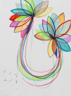 Renata Egreja, As Duas Flores [The Two Flowers], 2014, Zipper Galeria