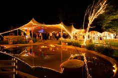 fairylights surrounding the tent Best Friend Wedding, My Best Friend, Our Wedding, Wedding Venues, Something Borrowed, Something Old, White Light, Got Married, Tent