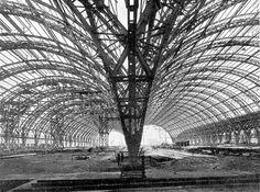 Costruzione della stazione centrale