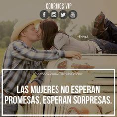 Sorpréndela.! ____________________ #teamcorridosvip #corridosvip #corridosybanda #corridos #quotes #regionalmexicano #frasesvip #promotion #promo #corridosgram