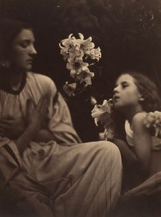 The Annunciation, after Perugino, 1865, by Julia Margaret Cameron