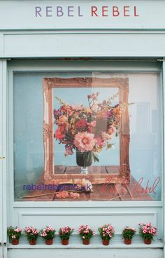 Rebel Rebel florist shop in London on Gardenista