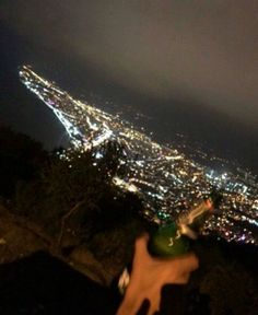I wonder if we could look down at California from a hill and see all the city lights outshining the stars. Night Aesthetic, Aesthetic Girl, Alcohol Aesthetic, Adventure Aesthetic, Instagram Story Ideas, Couple Pictures, Aesthetic Wallpapers, Life Is Beautiful, Night Life