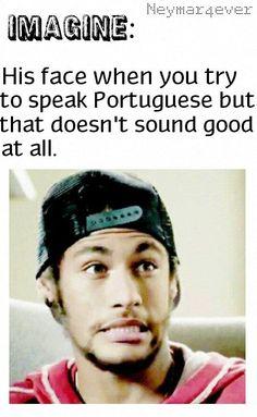 Oh mah gawd! Neymar Quotes, Neymar Memes, Neymar Jr, Good Soccer Players, Football Players, Inspirational Soccer Quotes, Ex Husbands, To My Future Husband, Dani Alves