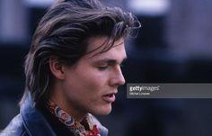 Singer Morten Harket of Norwegian group A-ha in 1990.
