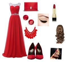 """""""An Outfit To Prom"""" by amiraamaura ❤ liked on Polyvore"""