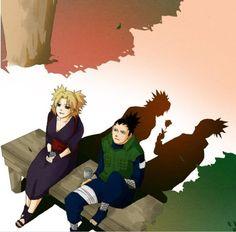 Naruto// Shikamaru and Temari