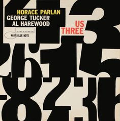 Horace Parlan/George Tucker/Al Harewood  by Reid Miles for  Blue Note