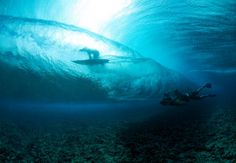 """A shot from Jack McCoy's upcoming """"A Deeper Shade of Blue""""; surfing the North Shore in Hawaii"""