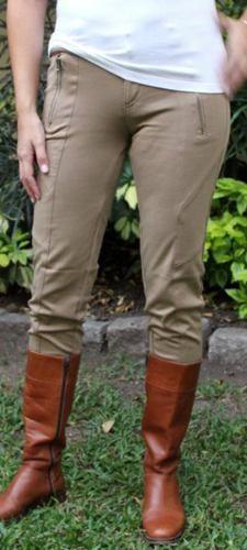9e149f3f83b33 Encontrá Pantalon De Montar Calzas Pantalon Elastizado Marron Beige -  Pantalones