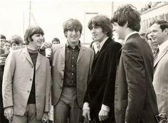 Ringo, John, George and Paul