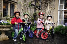 Strider Balance bikes, a fun & safe way to teach kids how to ride a bike.