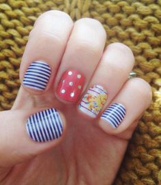How cute does our Navy Skinny, Icy Rose Polka and Flirty Flair look together? Good thing our wraps are buy 3 get 1 free - get this look and receive a bonus sheet! Uñas Jamberry, Jamberry Party, Jamberry Nail Wraps, Jamberry Consultant, Jamberry Combinations, Nail Pictures, Nail Trends, Mani Pedi, Spring Nails
