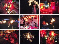 Bonfire party - sparklers good idea
