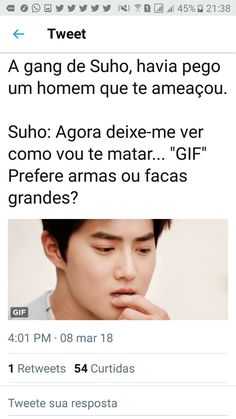 Suho como traficante Fanfic Exo, Fanfiction, Exo Imagines, Bts Imagine, Exo Memes, Suho Exo, Pop Songs, Kpop, Got7